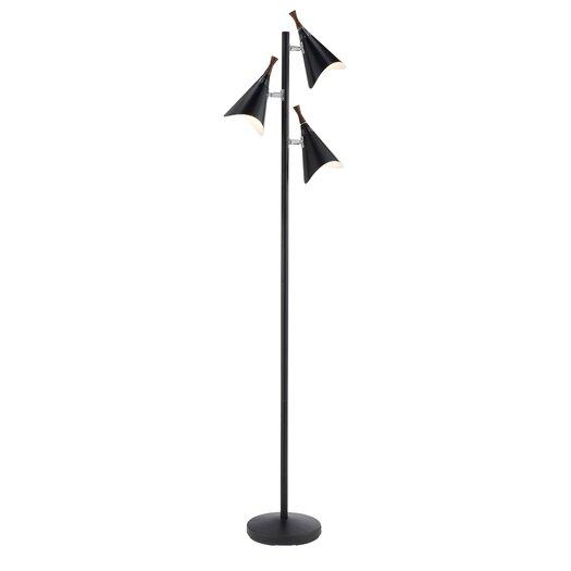 Adesso Draper 3 Light Tree Floor Lamp