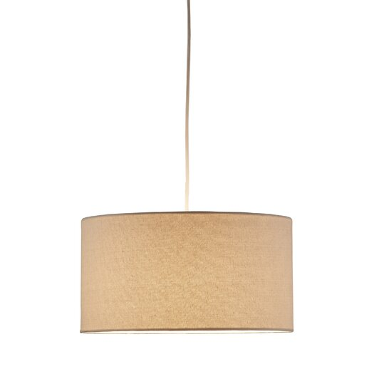 Adesso Medow 1 Light Drum Pendant