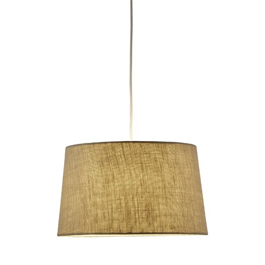 Adesso Brook1 Light Drum Pendant