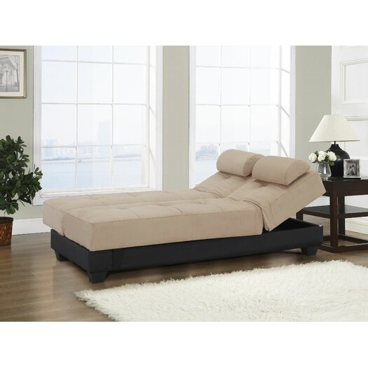 LifeStyle Solutions Serta Dream Convertible Sofa in Beige AllModern
