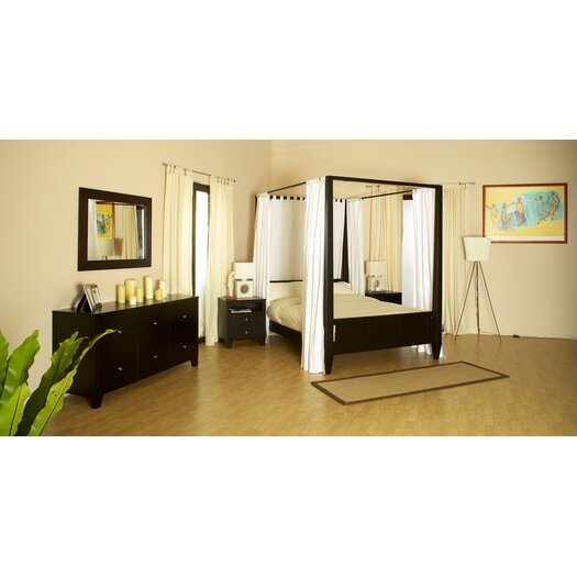 LifeStyle Solutions Wilshire 5 Piece Bedroom Set