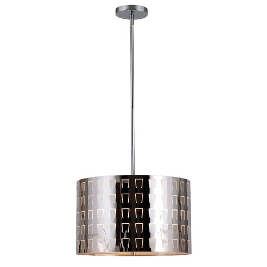 Wildon Home ® Alexis 3 Light Drum Pendant