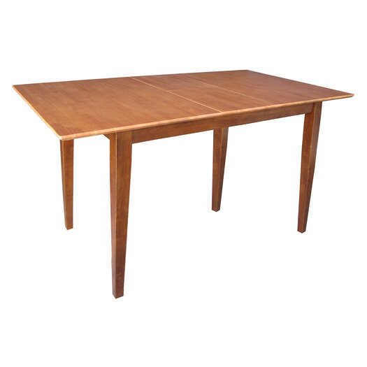 International Concepts Shaker Extendable Table
