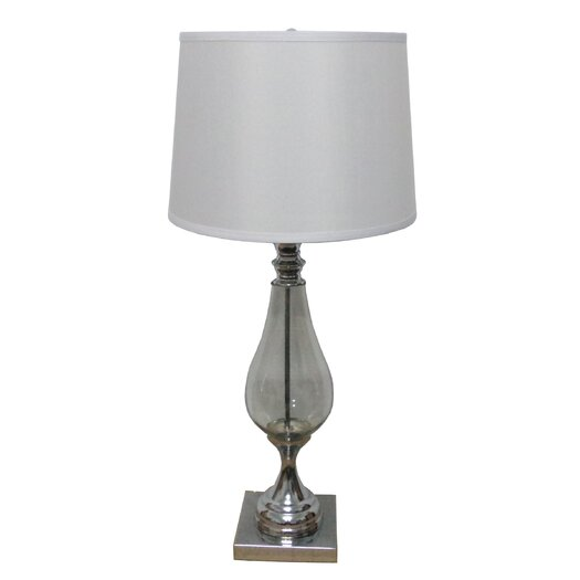 "Fangio Lighting 30"" H Table Lamp with Dum Shade"