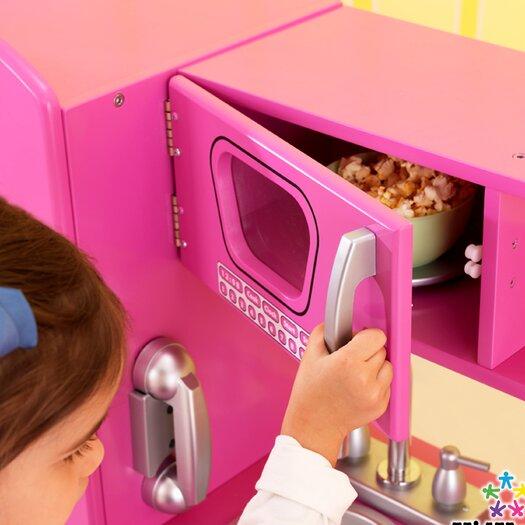 KidKraft Personalized Bubblegum Vintage Kitchen
