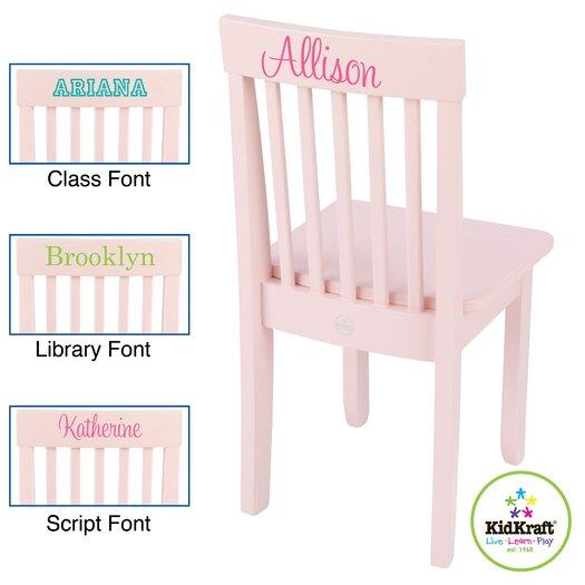 KidKraft Personalized Avalon Chair