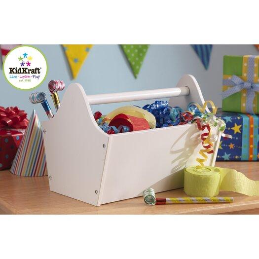 KidKraft Toy Box Caddy in White