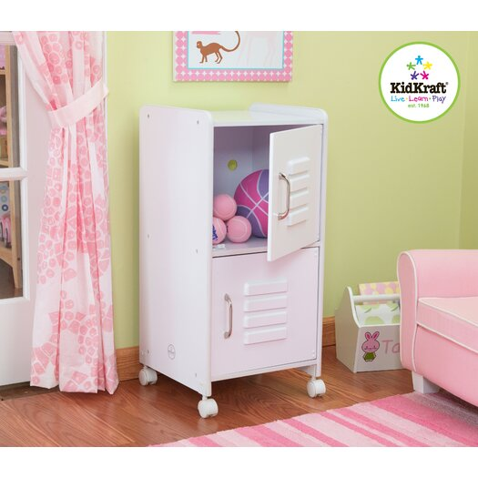 KidKraft Personalized Medium Locker in White