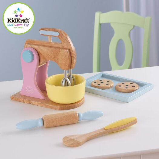 KidKraft 6 Piece Pastel Kitchen Baking Set