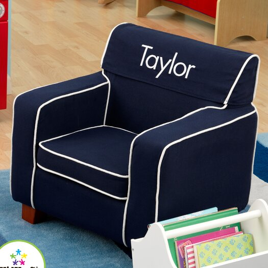 KidKraft Personalized Laguna Chair with Slip Cover
