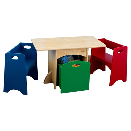 KidKraft Kids 4 Piece Table and Chair Set