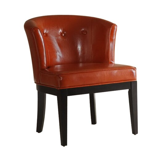 Armen Living Ovation Leather Arm Chair