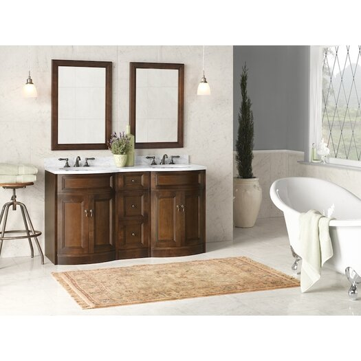 """Ronbow Traditions Marcello 24.38"""" Café Walnut Vanity Base"""