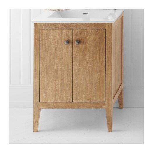 """Ronbow Sophie 24"""" W Wood Cabinet Vintage Honey Vanity Base"""