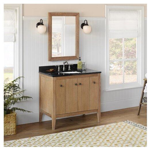 "Ronbow Neo-Classic Sophie 39"" Single Bathroom Vanity Set with Mirror"