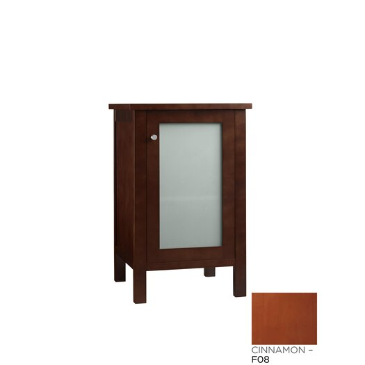 Ronbow Side Cabinet with Glass Door