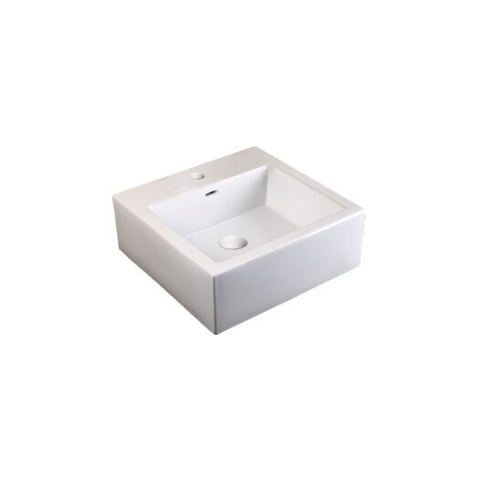 Ronbow ,Ceramic Bathroom Sink with Integrated