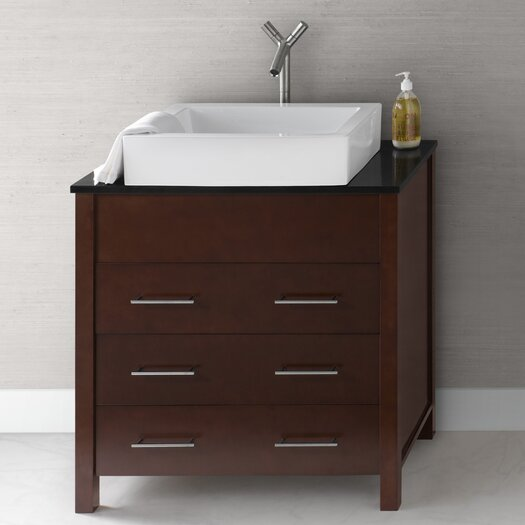 "Ronbow Contempo Kali 32.25"" Wood Vanity Set"