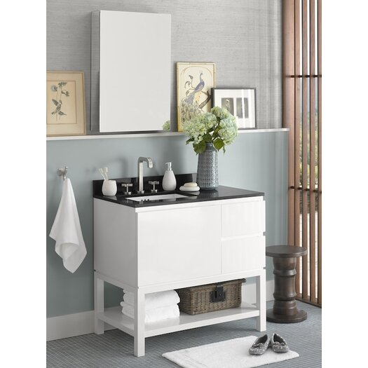 "Ronbow Contempo Chloe 37"" Single Bathroom Vanity Set"