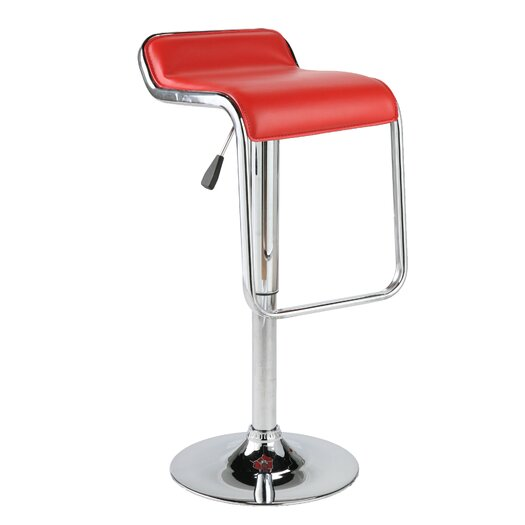 Eurostyle Furgus Adjustable Height Swivel Bar Stool with Cushion