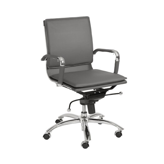 Eurostyle Gunar Pro Low Back Leatherette Office Chair
