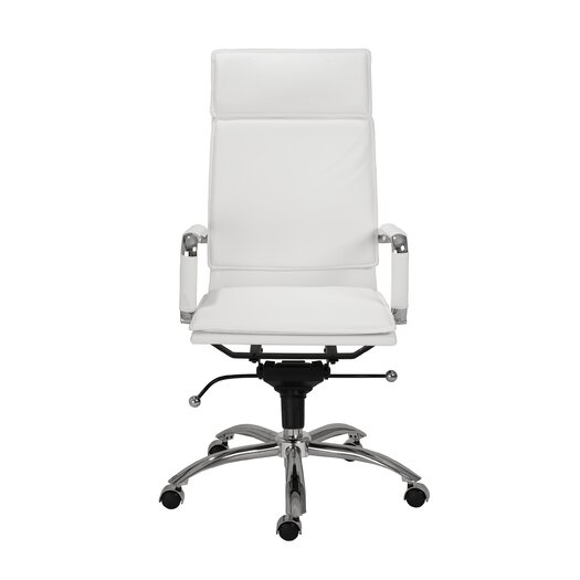 Eurostyle Gunar Pro High-Back Leatherette Office Chair with Arms
