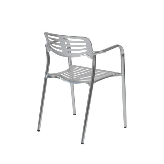 Eurostyle Helen Stacking Dining Arm Chair