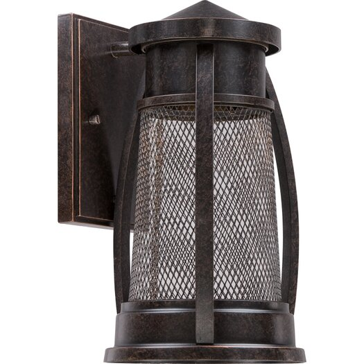 Quoizel Captree 1 Light Outdoor Wall Sconce