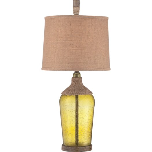 """Quoizel Moors 31.5"""" H Table Lamp with Drum Shade"""