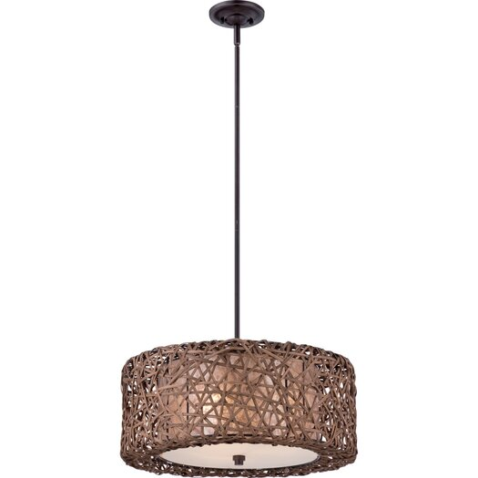 Quoizel Ruckman 1 Light Drum Pendant