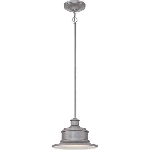 Quoizel Seaford 1 Light Outdoor Hanging Lantern