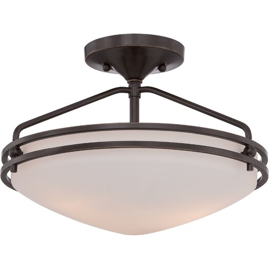 Quoizel Ozark Medium Semi Flush Mount