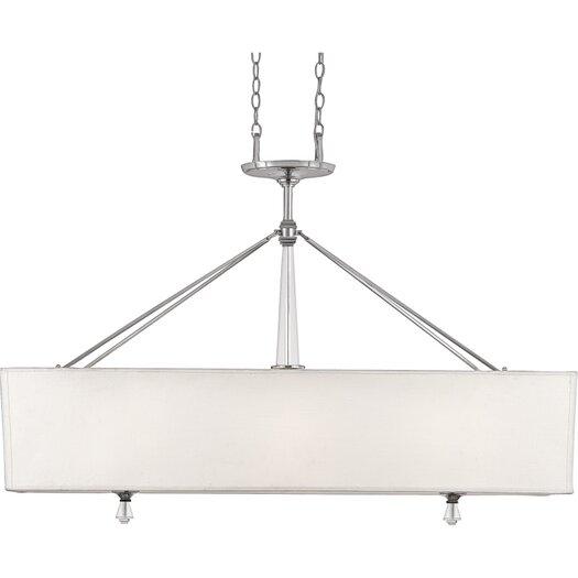 Quoizel Deluxe 3 Light Billiard Pendant