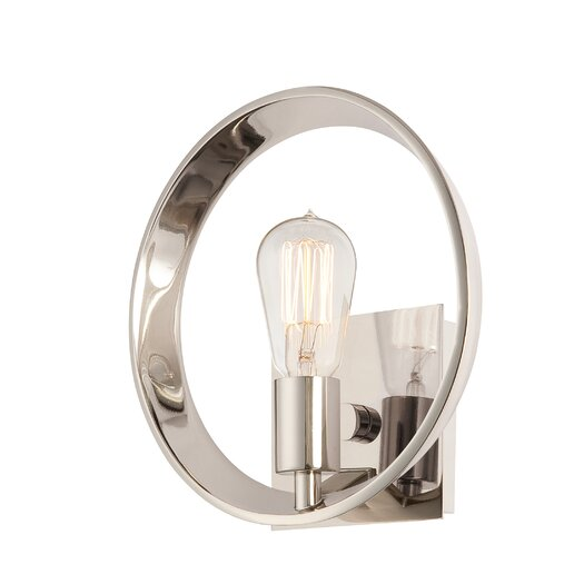 Quoizel Uptown Theater Row 1 Light Wall Sconce