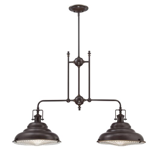 Quoizel Eastvale 2 Light Kitchen Pendant Light
