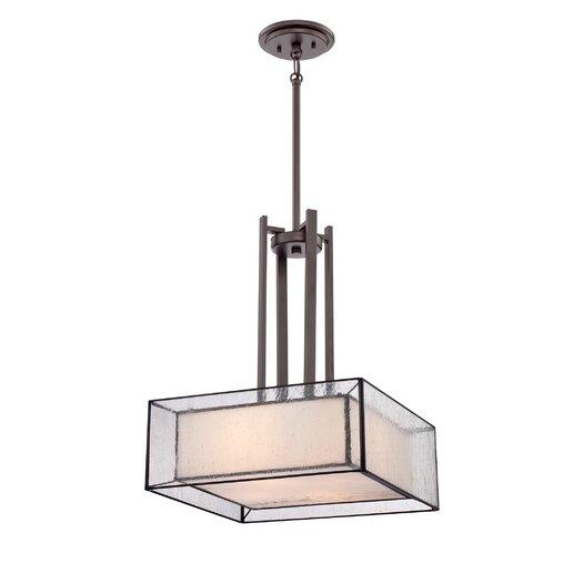 Quoizel Ferndale 4 Light Pendant