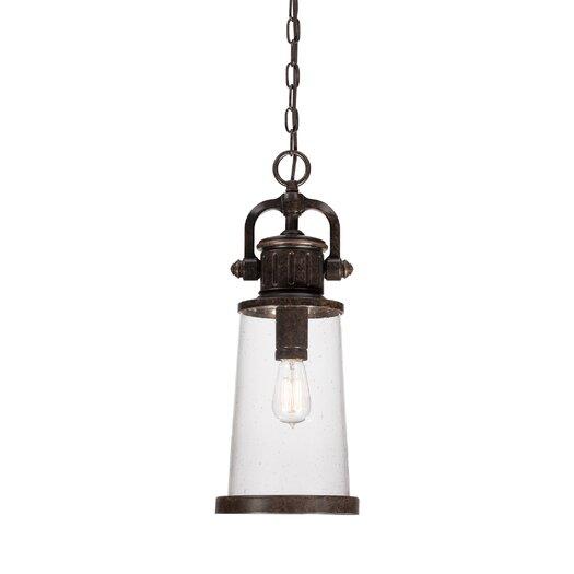 Quoizel Steadman 1 Light Outdoor Hanging Lantern
