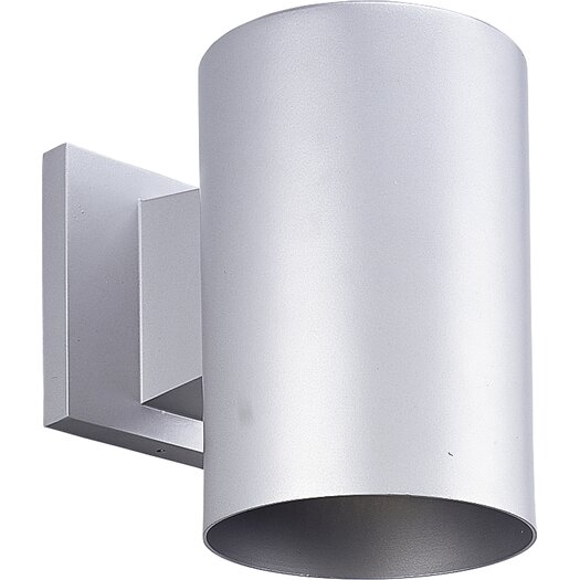 Progress Lighting Incandescent Cylinder 1 Light Outdoor Wall Lantern