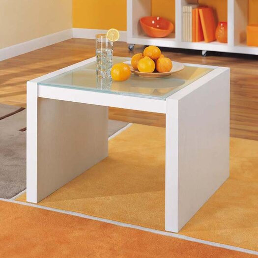 OIA Dawn Coffee Table with Glass Top