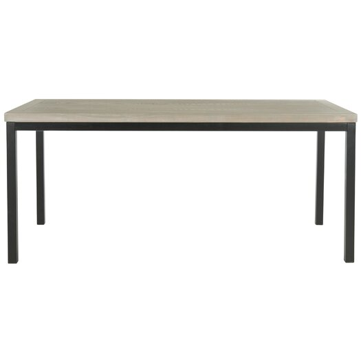 Safavieh American Home Dennis Coffee Table in Ash Grey