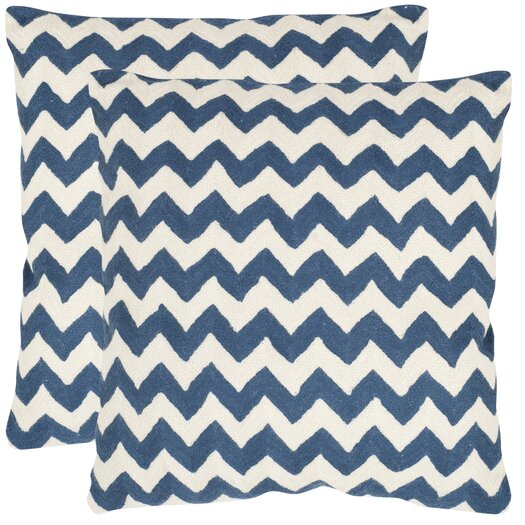 Safavieh Striped Tealea Decorative Pillow