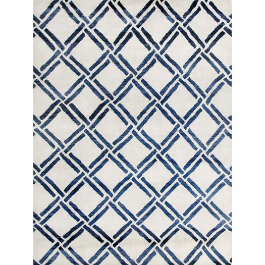 Safavieh Moroccan Ivory/Blue Rug