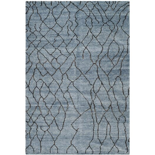 Safavieh Moroccan Blue/Black Rug