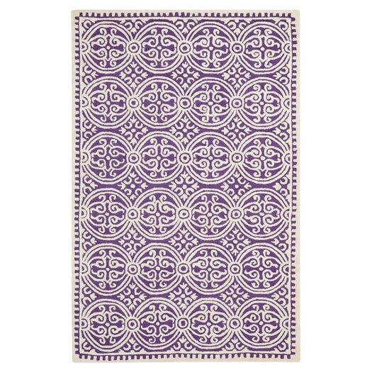 Safavieh Cambridge Purple / Ivory Area Rug