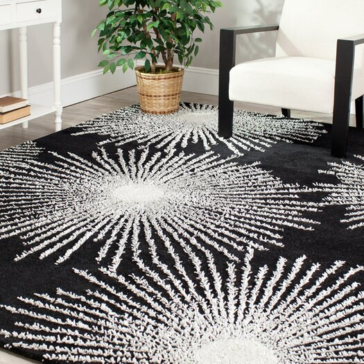 Safavieh Soho Burst Black & White Area Rug