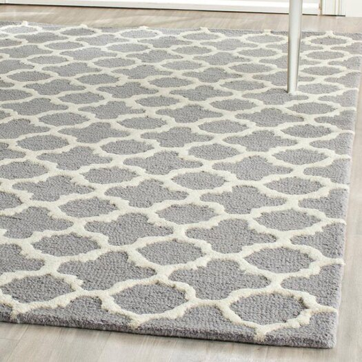 Safavieh Cambridge Cicle Silver & Ivory Area Rug