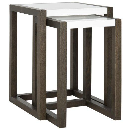 Safavieh Egan 2 Piece Nesting Tables