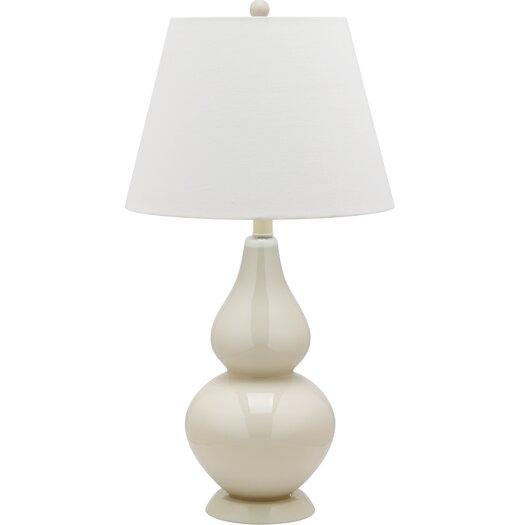 Safavieh Cybil Double Gourd Table Lamp with Empire Shade