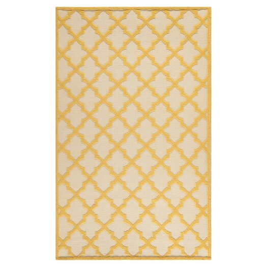 Safavieh Martha Stewart Puzzle Floral Ivory/Gold Outdoor Area Rug