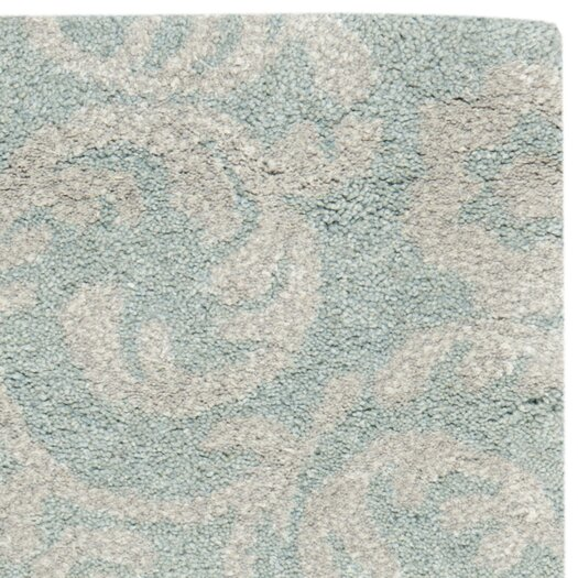 Safavieh Soho Light Blue/Silver Area Rug
